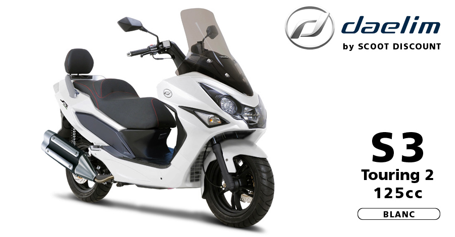 scooter Daelim S3 Touring 2 125cc