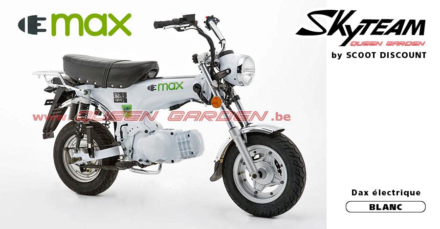 dax électrique Skyteam ELMAX blanc
