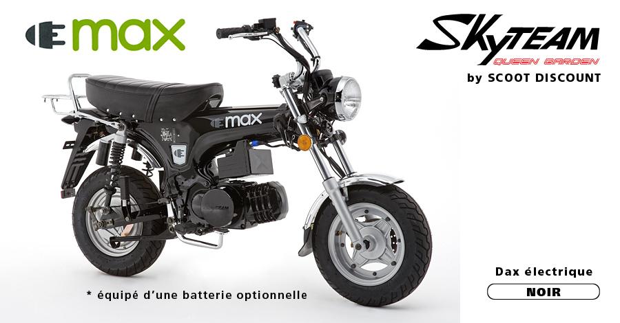 dax électrique Skyteam ELMAX noir