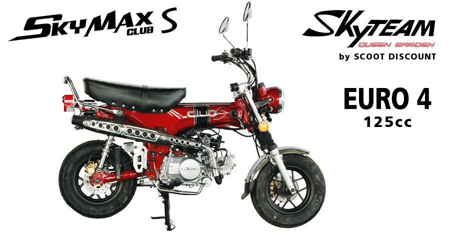 dax Skyteam Skymax Club S 125 E4