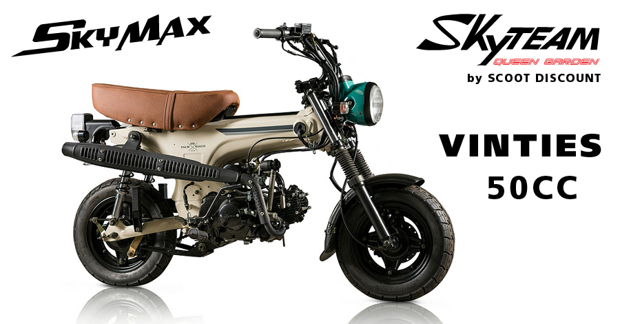 Dax Skyteam Skymax Vinties 50 cc