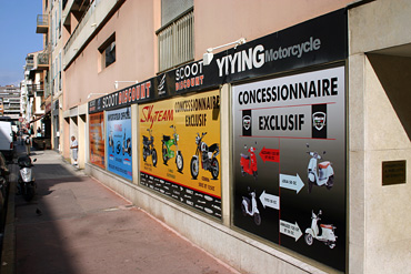 magasin scoot discount nice - concessionnaire exclusif yiying - neco - skyteam