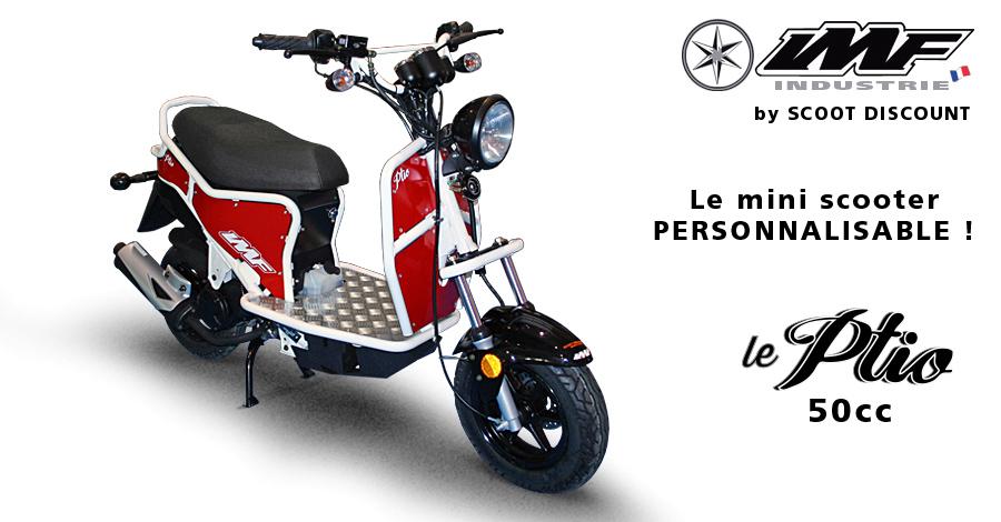 scooter français Ptio personnalisable IMF Industrie