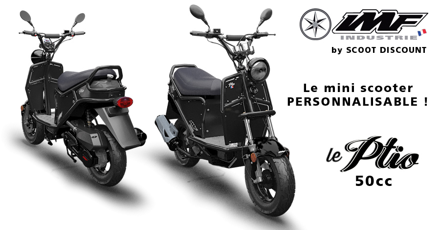 scooter français Ptio personnalisable IMF Industrie