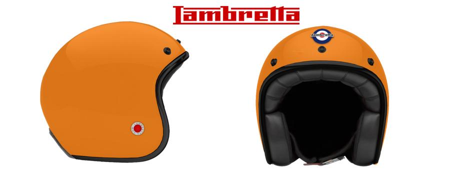 Lambretta accessoires : les casques vintages