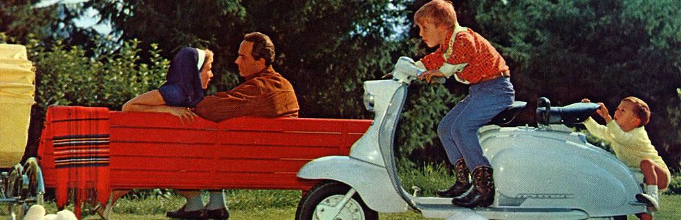 Historique de la marque LAMBRETTA, les scooters mythiques