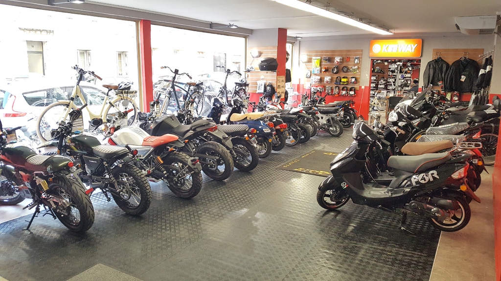 magasin equipement moto nice