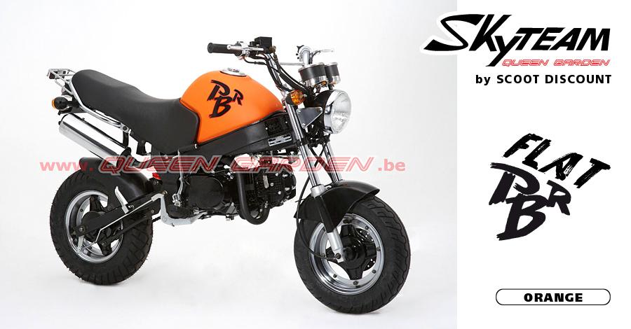 mini 4 temps Skyteam PBR Flat orange