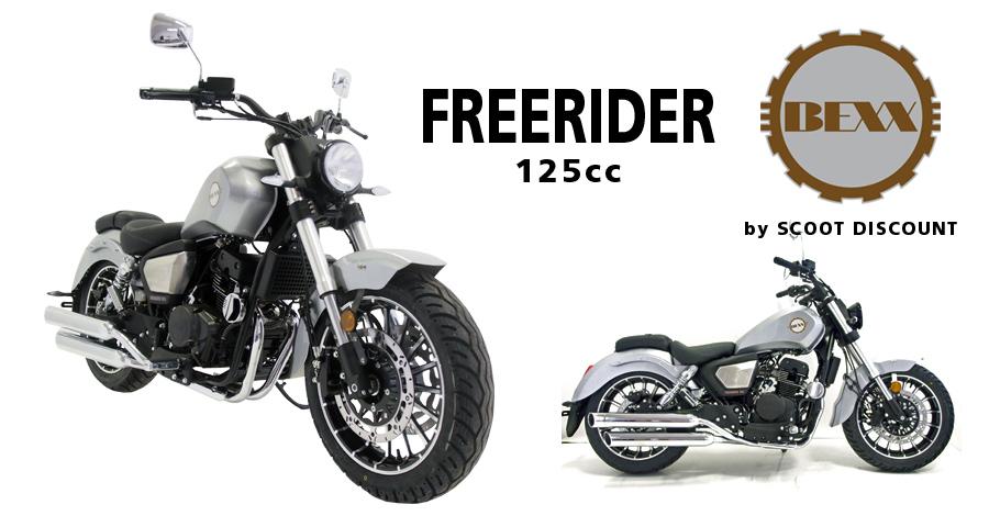 moto BEXX Free Rider 125 cc