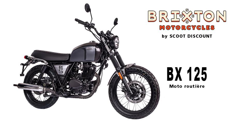 moto Brixton BX 125 Classic