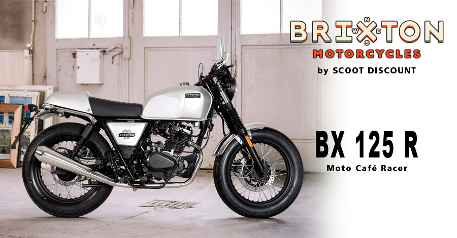 moto Brixton BX 125 R Café Racer