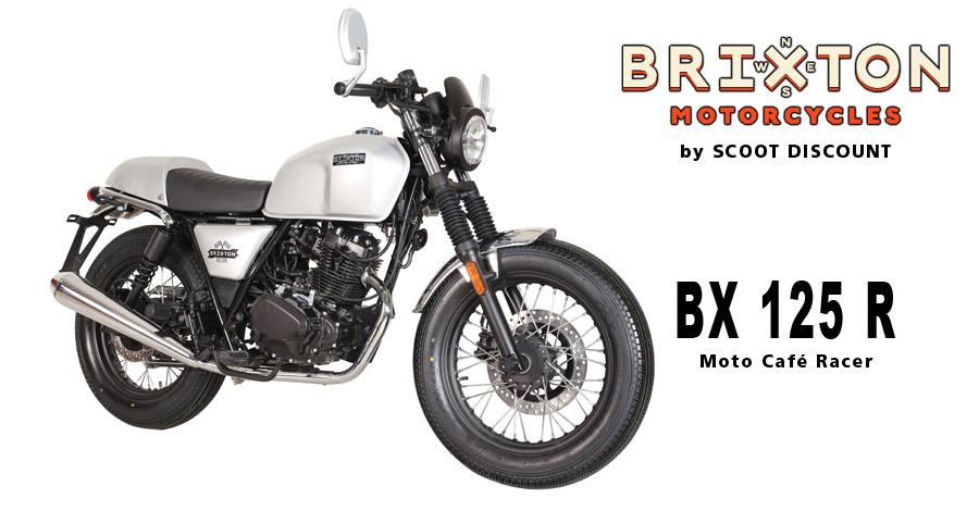 moto Brixton Sunray 125 R Café Racer