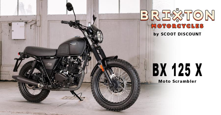 moto Brixton Felsberg 125 X Scrambler
