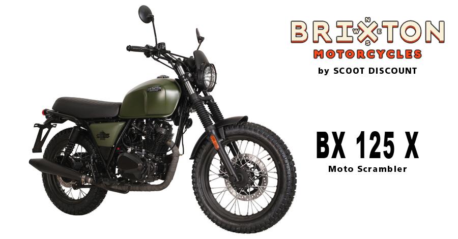 moto Brixton BX 125 X Scrambler