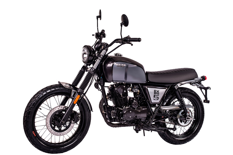 moto brixton bx 125 classic british racing scoot discount. Black Bedroom Furniture Sets. Home Design Ideas