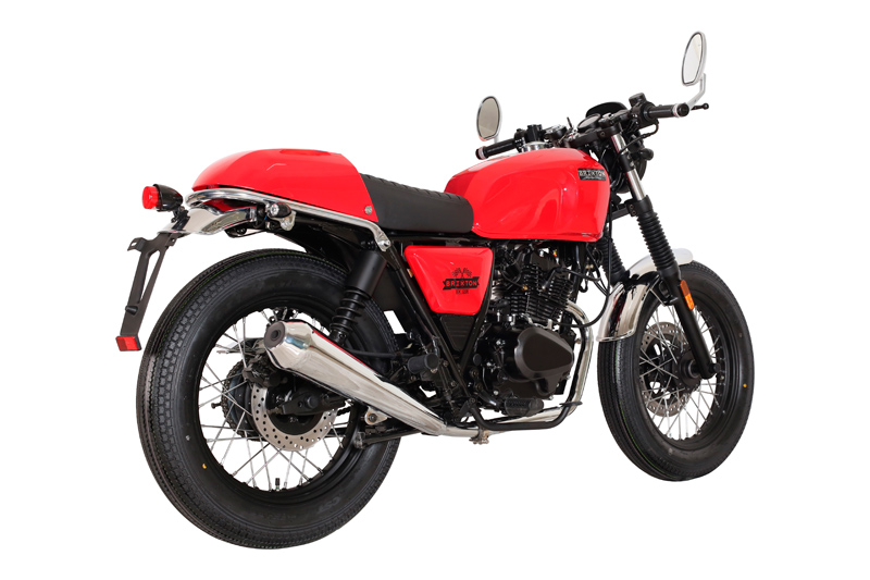 moto brixton bx 125 r caf racer scoot discount. Black Bedroom Furniture Sets. Home Design Ideas