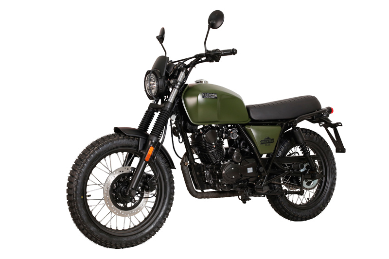 moto brixton bx 125 x scrambler scoot discount. Black Bedroom Furniture Sets. Home Design Ideas