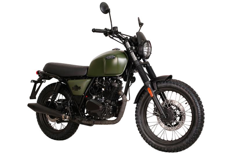 moto brixton bx 125 x scrambler scoot discount. Black Bedroom Furniture Sets. Home Design Ideas
