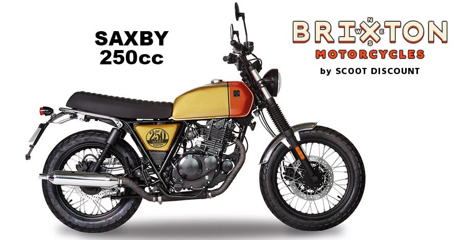 moto Brixton Saxby 250cc