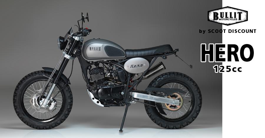 Moto Bullit Hero Scrambler 125cc