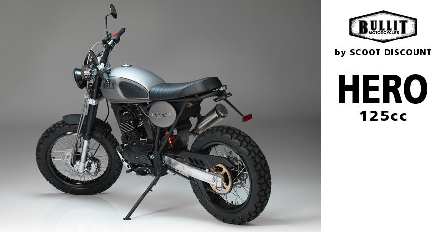 Moto Bullit Motorcycles Hero 125cc