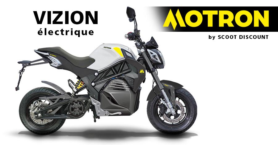 moto électrique Motron VIZION