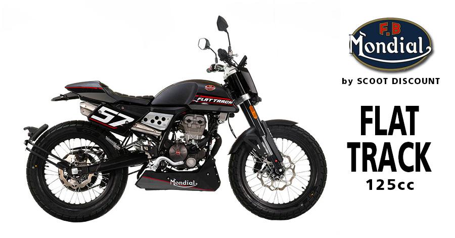 moto FB Mondial Flat Track 125 et 250cc