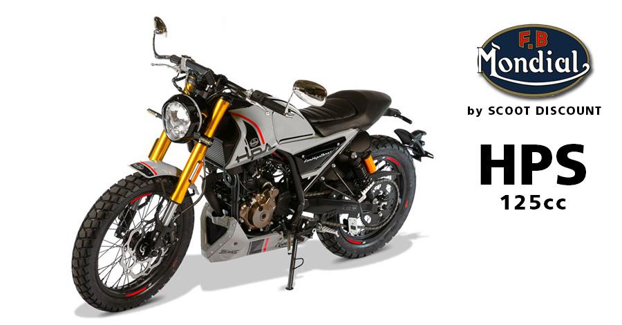 Moto FB Mondial HPS 125cc Hipster