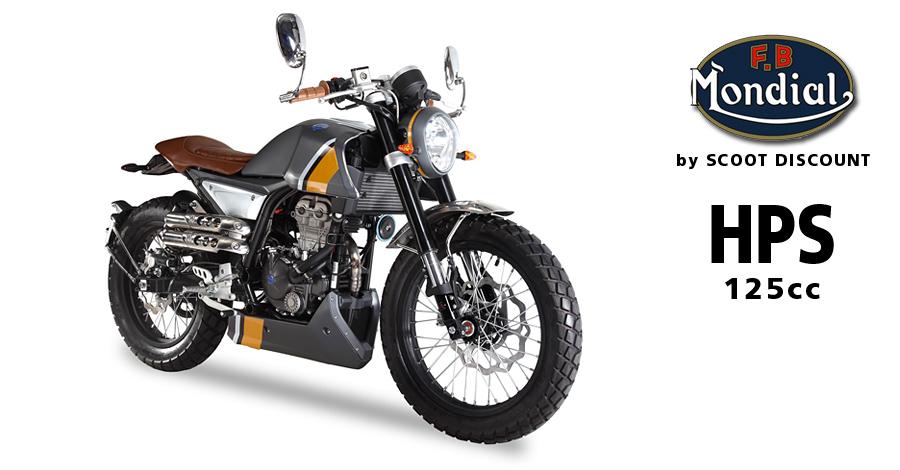 Moto FB Mondial HPS 125v