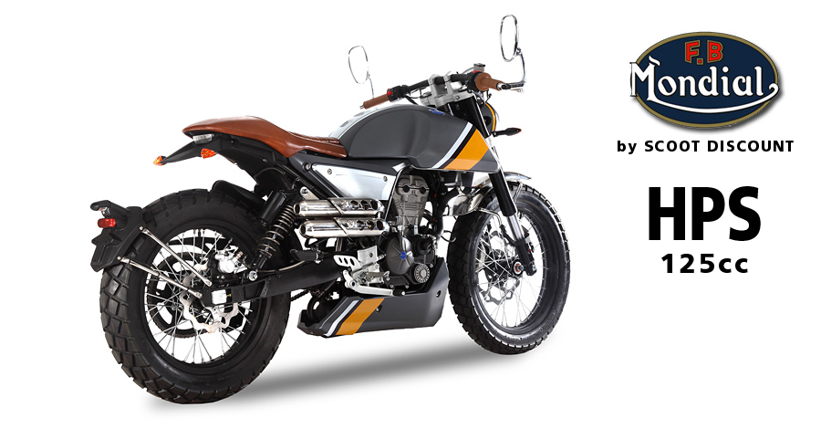 Moto FB Mondial HPS 125 Hipster