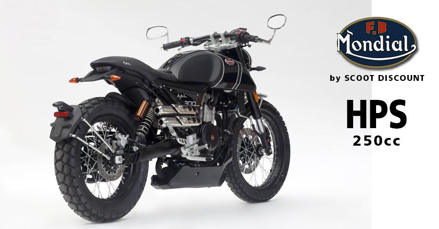 Moto FB Mondial HPS 300 Hipster 250cc