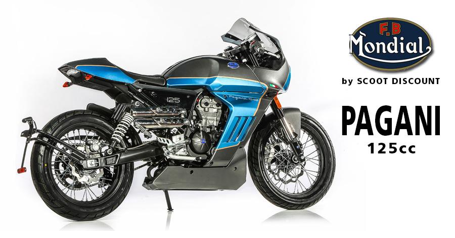 Moto FB Mondial Pagani 125 -125cc