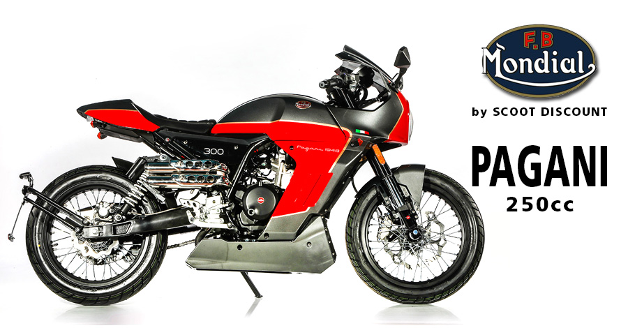 Moto FB Mondial Pagani 300 - 250cc