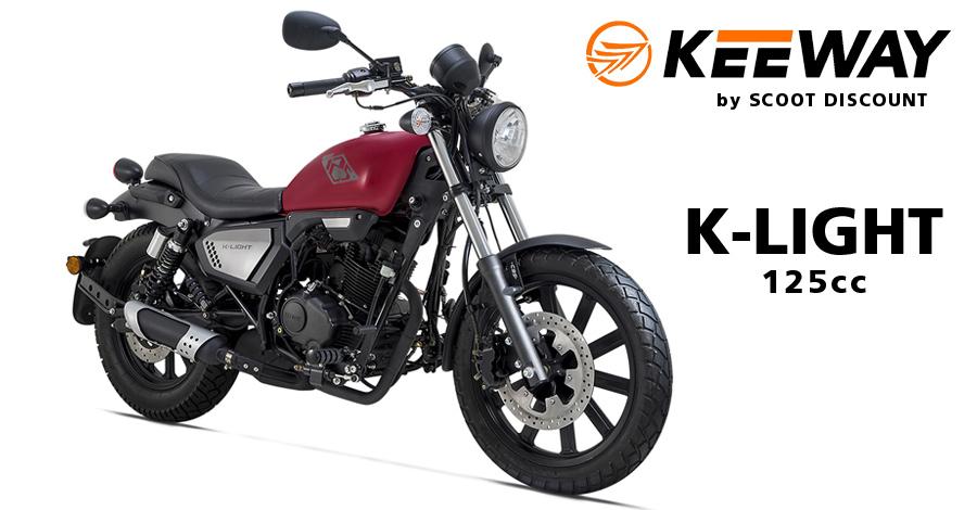 moto Keeway K Light 125cc bobber