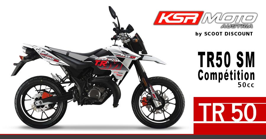 moto KSR TR 50 SM Compétition 50cc Super Motard