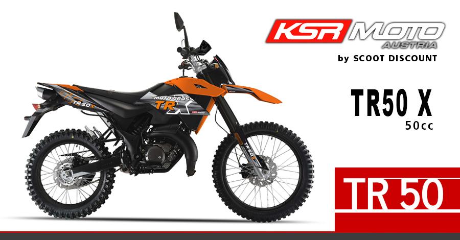 moto KSR TR 50 X 50cc Moto Cross Enduro