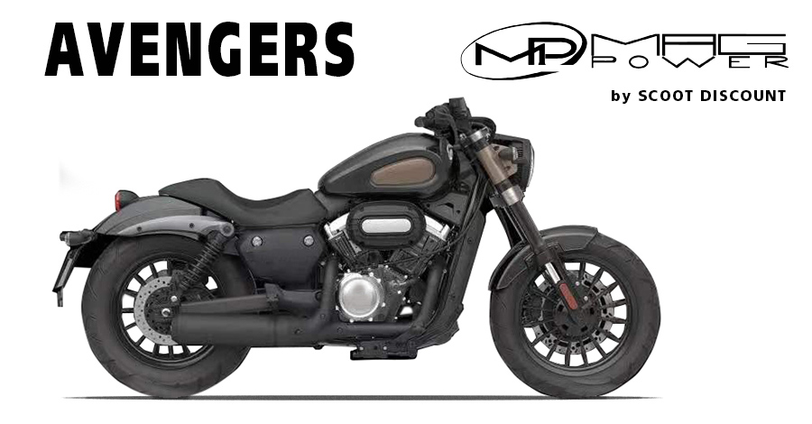 moto Magpower Avengers 125 et 300cc
