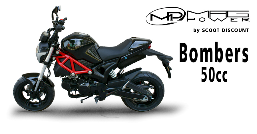 Moto Mag Power Bombers 50cc - mini 4 temps