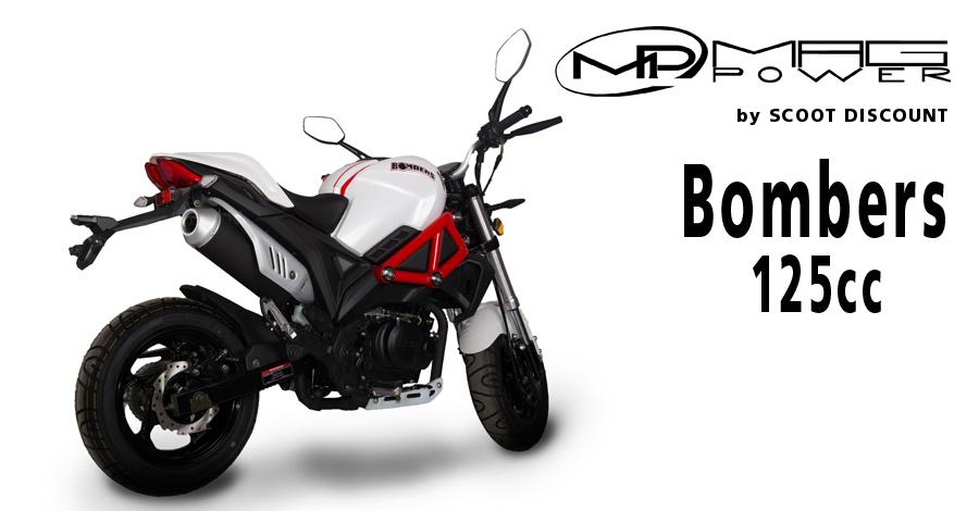 Moto Mag Power Bombers 125cc - mini 4 temps