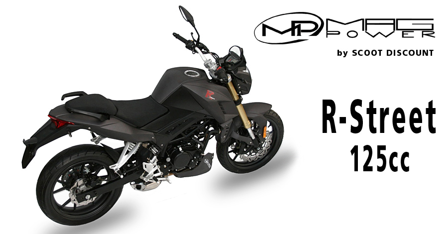 moto Mag Power R-Street 50 et 125cc