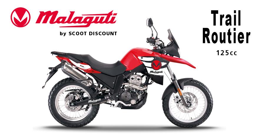 moto Malaguti DUNE 125cc trail routier