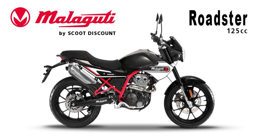 moto Malaguti MONTE 125cc roadster