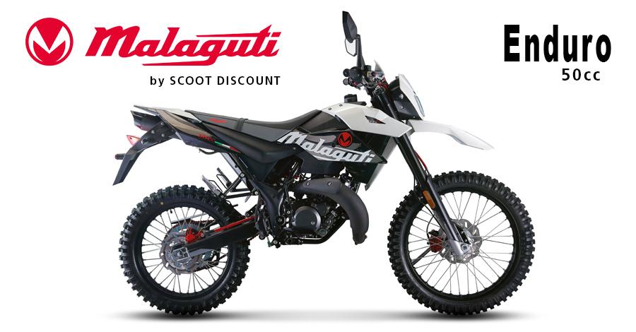 moto Malaguti XTM 50cc Enduro