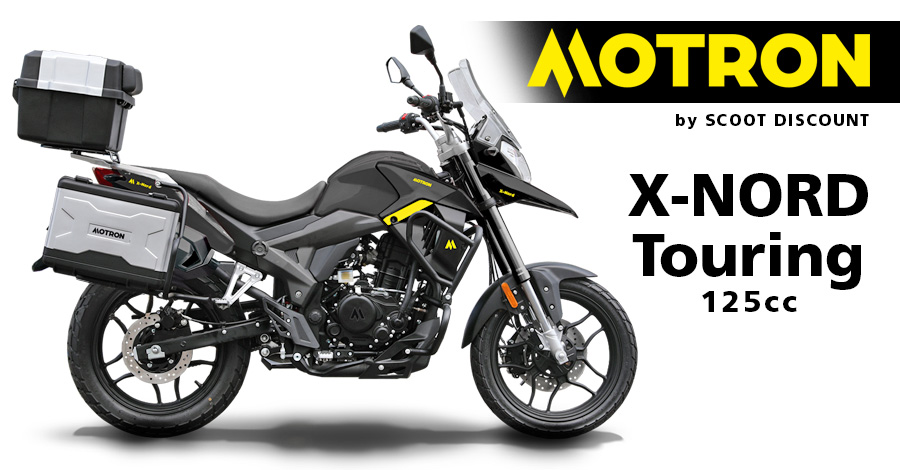 moto Motron X-NORD Touring 125