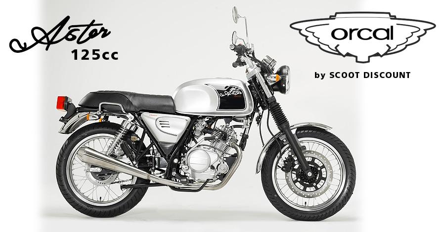moto Orcal Astor 125cc