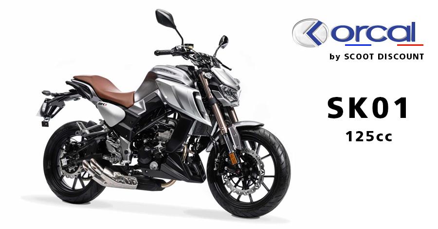 moto Orcal SK01 125cc