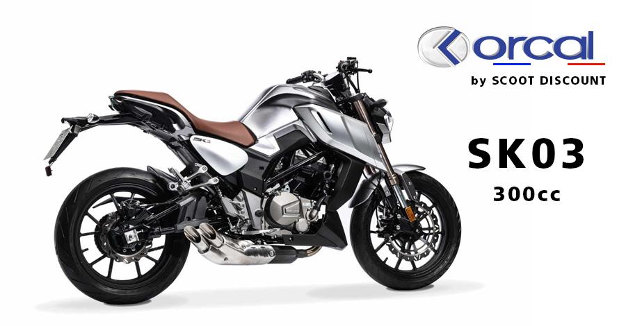 moto Orcal SK03 300cc