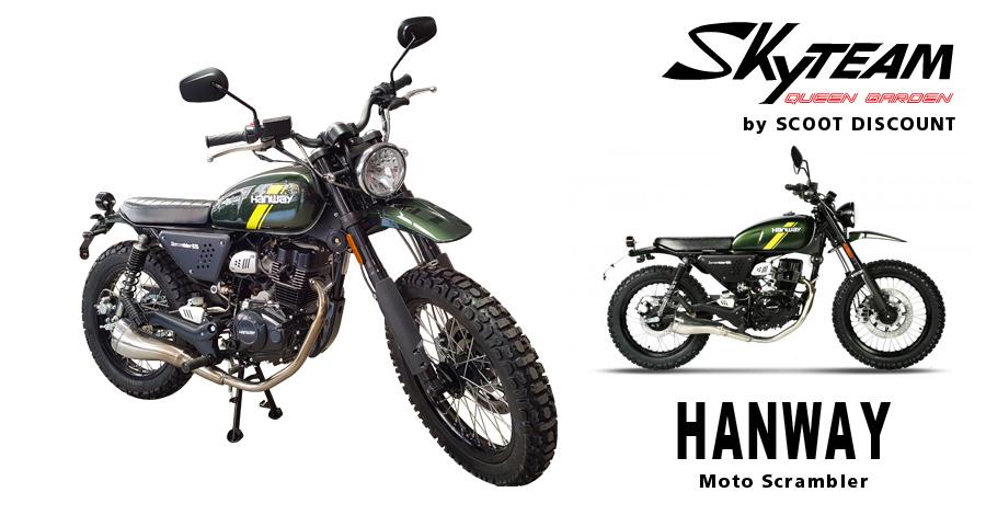moto Skyteam Hanway Scrambler 125