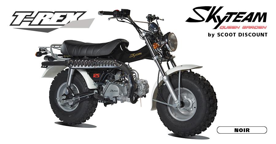 moto Skyteam T-REX noir