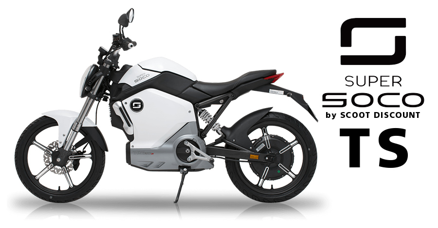 moto électrique Super SOCO TS